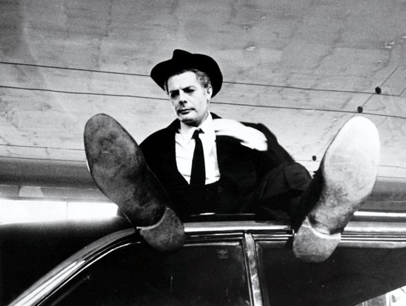 A still from Fellini's 8 1/2
