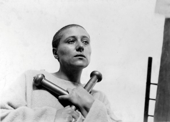 A still from Dreyer's The Passion of Joan of Arc