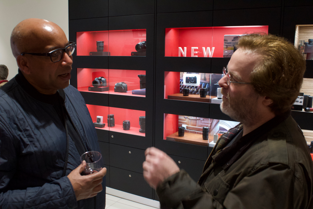 Doubt Exhibition by Erik Knudsen opening Leica Store Manchester 2018