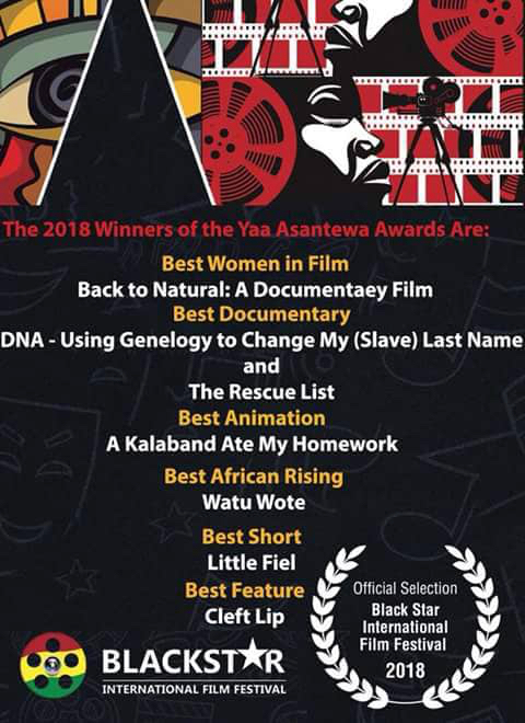 Black Star International Film Festival Award Winning Films, including Cleft Lip, winner of Best Feature Film.